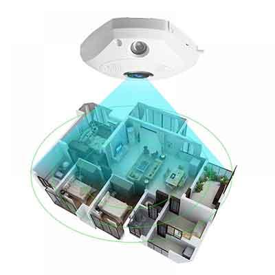 กล้องวงจรปิด 360' VStarcam C61s
