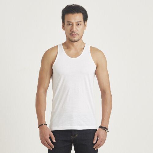 เสื้อกล้าม ห่านคู่คลาสสิก สีขาว Size M เบอร์ 38