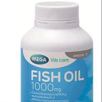 Mega Fishoil 100 Capsules